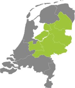 Werkgebied lekkageoplossingen.nl